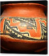 Polychrome Pottery 1100 Ad Canvas Print