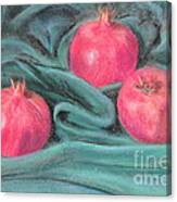 Pomegeranates Canvas Print