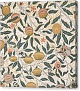 Pomegranate Design For Wallpaper Canvas Print