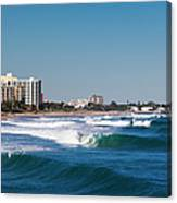 Pompano Beach, Florida, Exterior View Canvas Print