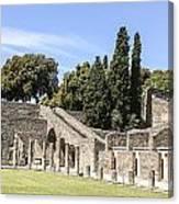 Pompeii 2 Canvas Print