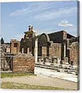 Pompeii 3 Canvas Print