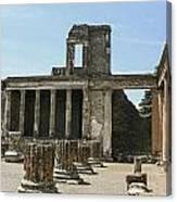 Pompeii 8 Canvas Print