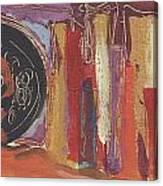 Pompeii Postcard Canvas Print