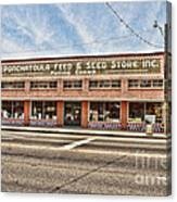 Ponchatoula Feed And Seed Canvas Print