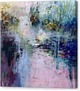 Pond Grasses Canvas Print