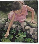 Pond Magic Canvas Print