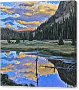 Pondering Reflections Canvas Print