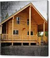 Pond's Cabin Canvas Print