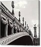 Pont Alexandre IIi Canvas Print