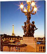 Pont Alexandre IIi - Paris Canvas Print