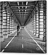 Pont De Bercy Canvas Print