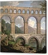 Pont Du Gard, Nimes Canvas Print