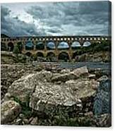 Pont-du-gard Canvas Print