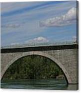 Pont La Javie  South France Canvas Print