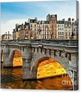 Pont Neu - Paris  Canvas Print