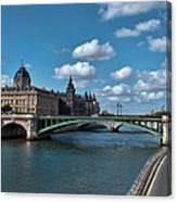Pont Notre Dame Canvas Print