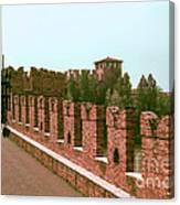 Pont Scaligero Canvas Print