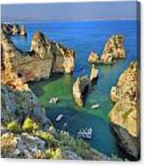 Ponta De Piedade Coast II Canvas Print