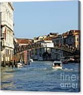 Ponte Dell Accademia Canvas Print