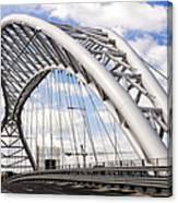 Ponte Settimia Spizzichino Canvas Print