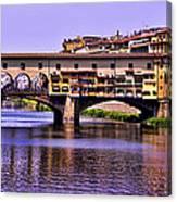 Ponte Vecchio Bridge - Florence Canvas Print