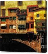 Ponte Vecchio Firenze Canvas Print