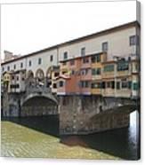 Ponte Vecchio - Florence Canvas Print