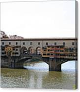Ponte Vecchio I Canvas Print