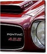 Pontiac 455 Canvas Print