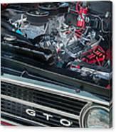 Pontiac G T O Canvas Print