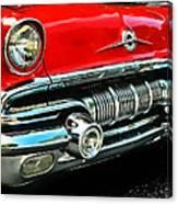 Pontiac Grill Canvas Print