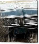 Pontiac Late 60s Canvas Print
