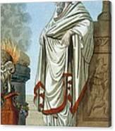 Pontifex Maximus, Illustration Canvas Print