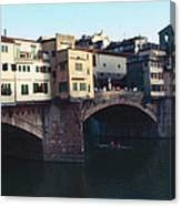 Ponto Vecchio Florence Palette Canvas Print