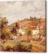 Pontoise Canvas Print