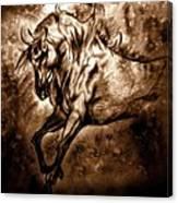 Pony Express Canvas Print