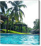 Pool Panorama Canvas Print