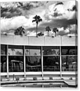 Pool Storm Palm Springs Canvas Print