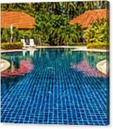 Pool Time Canvas Print