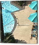 Pooldeck1145b Canvas Print