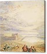Pools Of Solomon Canvas Print