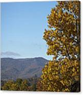Poor Mountain View Canvas Print