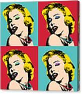 Pop Art Collage  Canvas Print
