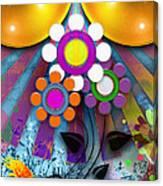 Pop Art Flower Canvas Print