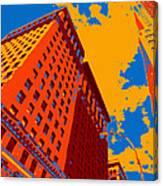 Pop Art Nyc Canvas Print