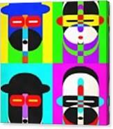 Pop Art People 4 2 Canvas Print
