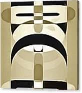 Pop Art People Totem 6 Canvas Print