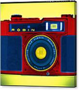 Pop Art Robin Canvas Print