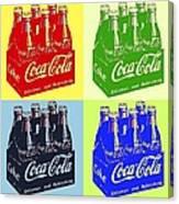 Pop Coke Canvas Print